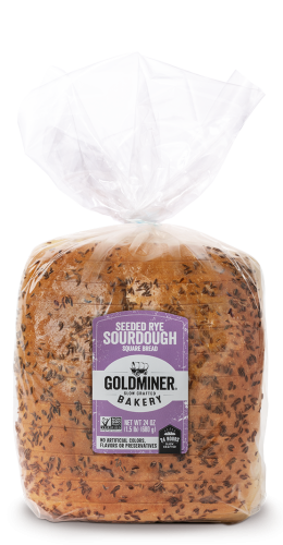 Goldminer Seeded Rye Square Packaging