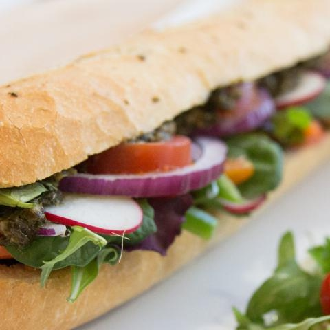California Veggie Sub Sandwich