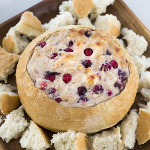 White Cheddar & Cranberry Dip